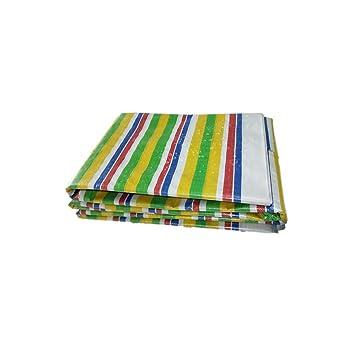 Lonas y amarres Cobertizo de tela tiras de colores de tela decoración de plástico tela impermeable impermeable protector solar lienzo engrosamiento tela de ...