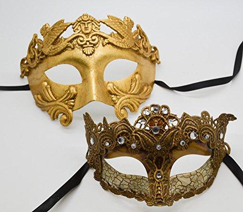 Plati (His And Hers Masquerade Ball Masks)