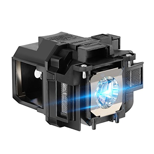 AWO Premium Replacement Lamp with Housing Fit for EPSON ELPLP87 / V13H010L87 PowerLite 520/525W/530/535W / BrightLink 536Wi, EB-520/525W/530/530S/535W/536Wi