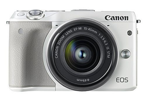 Canon EOS M3 Mirrorless Digital Camera with 15-45mm Lens -