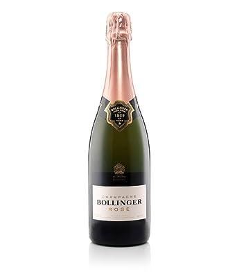 Gifts2Drink Bollinger Rose Indulgence Gift Set with Bollinger Rose Champagne NV 75 cl, 2 LSA