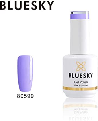 Bluesky Gel Nail Polish (80599), Lilac
