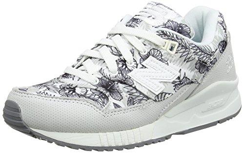 Nieuw Evenwicht Damen W530 Sneakers Weiß (witte Druk)