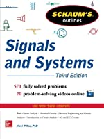Schaum's Outline of Signals and Systems, 3rd Edition Front Cover