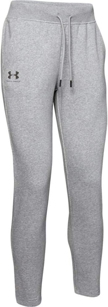 Under Armour Womens Rival Fleece Open Hem Pant Pants