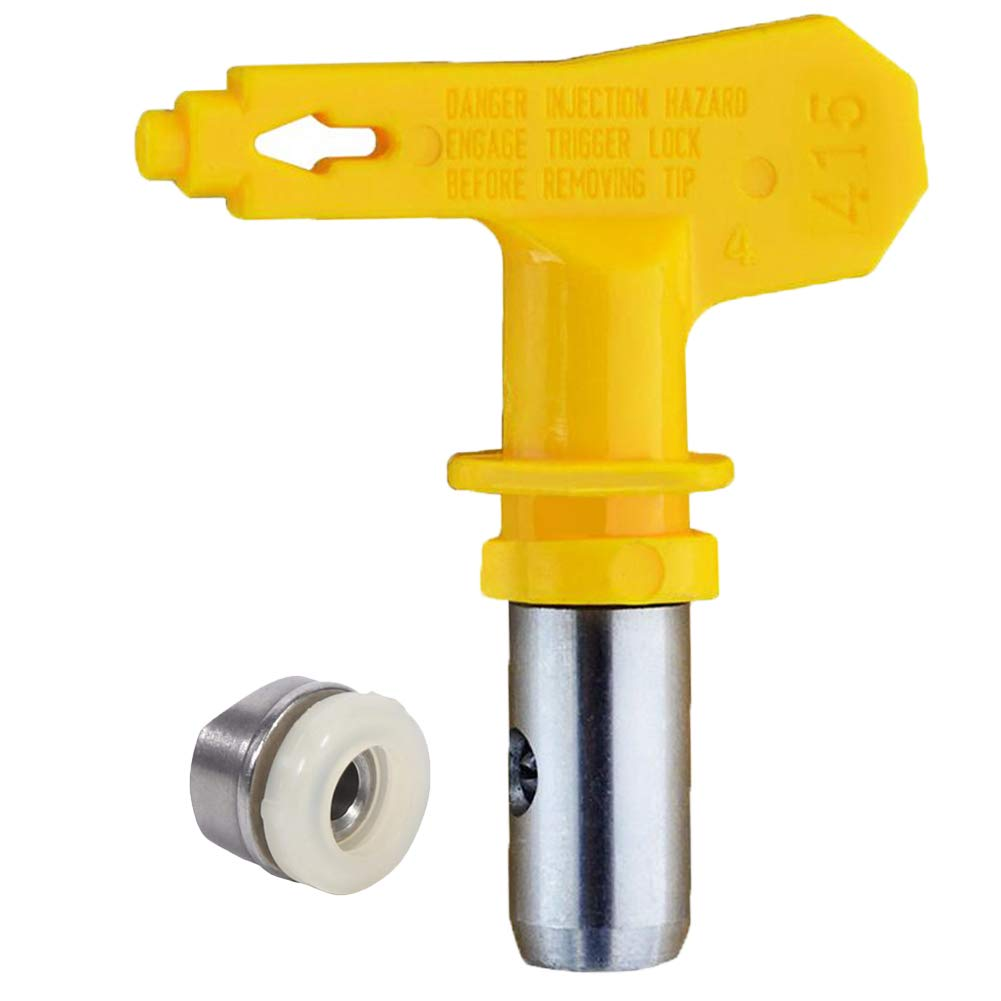 Jewboer Reversible Airless Spray Tip for Airless Spray and Paint Sprayer Nozzle (621)