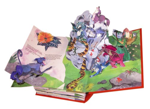 jungle book pop up book
