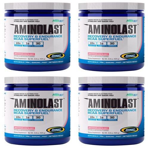 Aminolast - Watermelon | 420g | 4 PACK BUNDLE ()