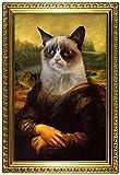 Grumpy Cat Mona Lisa Poster 13 x 19in