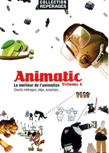 (Animatic - Volume 4 ( Tyger / Dog Days / X.pression / One D / Histoire tragique avec fin heureuse / Telerific Voodoo / Morir de amor / Flatworld / Barcod [ NON-USA FORMAT, PAL, Reg.0 Import - France ])