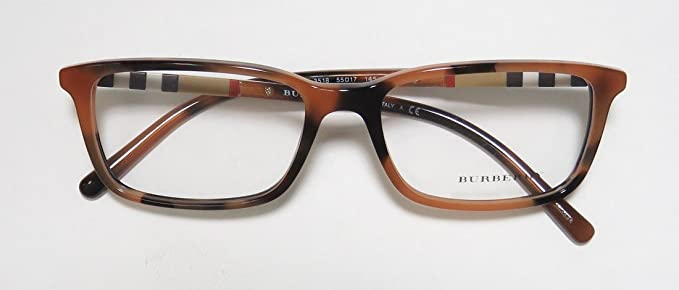 7663ea722c26 Eyeglasses Burberry BE 2199 3518 SPOTTED AMBER at Amazon Men's Clothing  store: