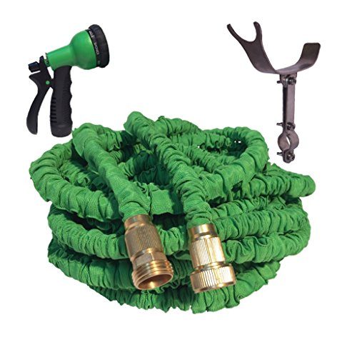 50-foot-green-expandable-garden-hose-strongest-expandable-hose-stainless-steel-holder-pat-pend-brass