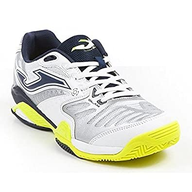 Zapatilla Joma Padel Slam White-Fluor Clay Talla 39 EUR: Amazon.es ...