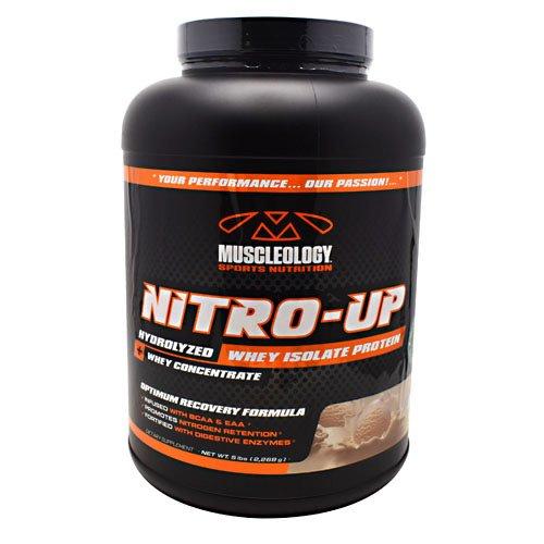 Muscleology Nitro-Up, Vanilla 5 lbs (2268g)