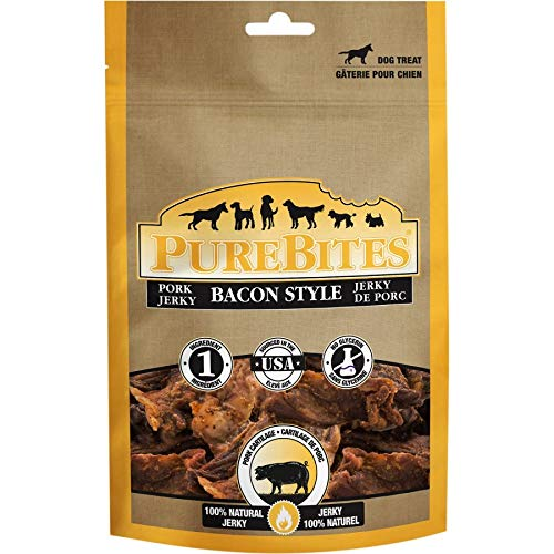 PureBites Bacon Style Jerky Dog Treats (27 Pack)