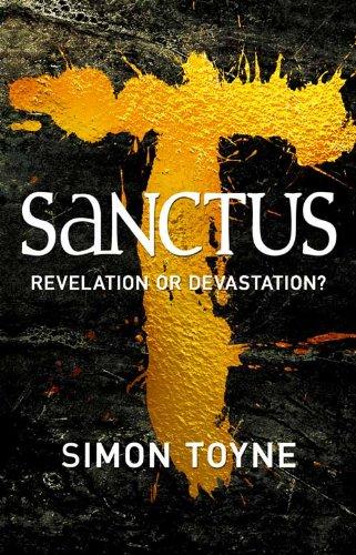 """""""Sanctus"""" av Simon Toyne"""