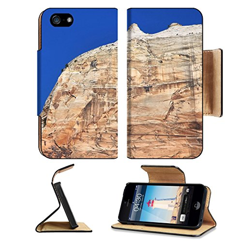 MSD Premium Apple iPhone 5 iphone 5S Flip Pu Leather Wallet Case iPhone5 IMAGE 22929454 Zion national park rocky - T Zion Glasses
