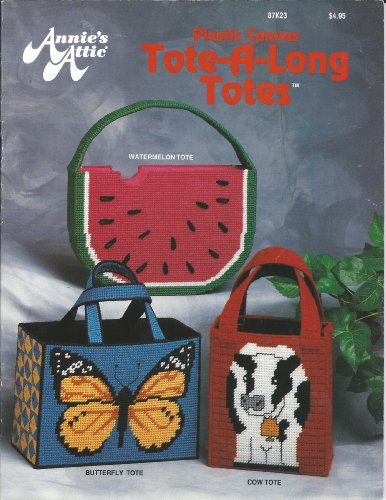 Tote-A-Long Totes - Plastic Canvas Pattern Pamphlet - #87K23