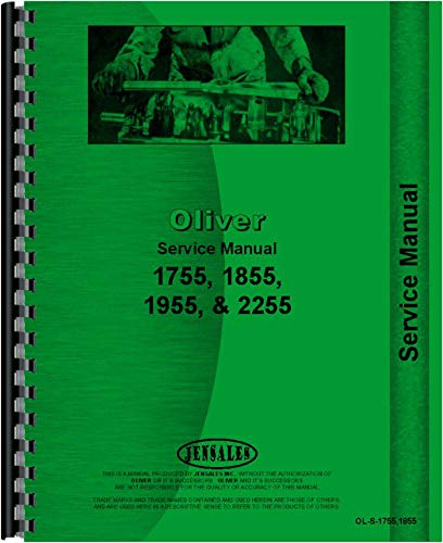 Oliver 1755 Tractor Service Manual by Jensales