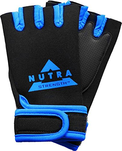 Nutra Strength   Best Weight Lifting Gloves For Men   Padded Neoprene Training Gloves With Wrist Support
