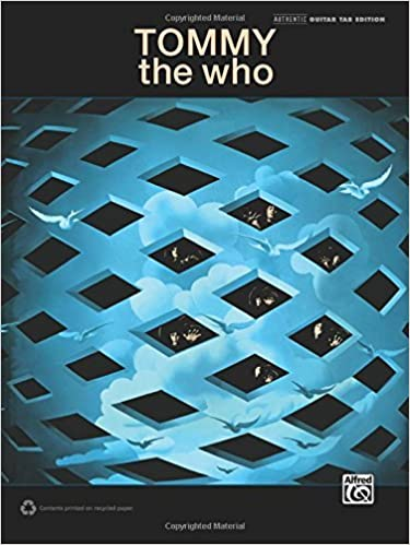Book The Who -- Tommy: Guitar TAB (Guitar Tab Editions) by The Who (2014-01-01)