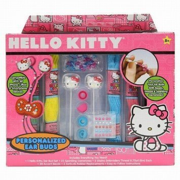 Hello Kitty Personalized Ear Buds compatible with all iPhone