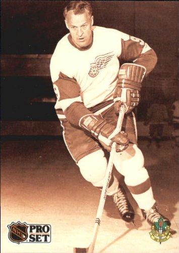 1991 Pro Set Hockey Card (1991-92) #344 Gordie Howe ()