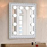 Chende Hollywood Style LED Vanity Mirror Lights Kit with Dimmable Light Bulbs, Lighting Fixture Strip for Makeup Vanity Table Set in Dressing Room