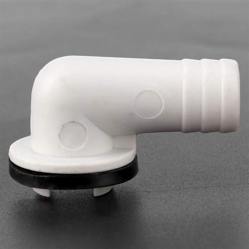 LIZONGFQ Zhang Asia 19mm Derecho del /ángel del acondicionador de Aire de Drenaje Conector de Salida de Drenaje Herramienta de tuber/ía de Drenaje Aire Acondicionado