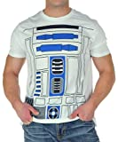 Mighty Fine I AM R2D2 MENS COSTUME TEE White L