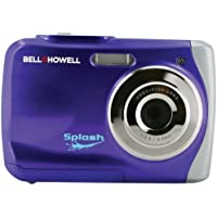 Bell + Howell WP7-P 12.0 Megapixel WP7 Splash Waterproof Digital Camera (Purple)