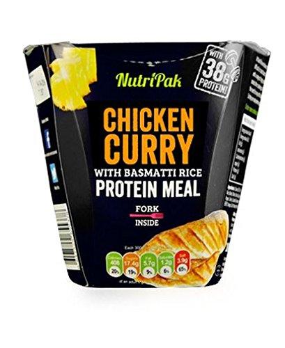 Curryhähnchen mit Basmati-Reis, Proteinmahlzeit 300g