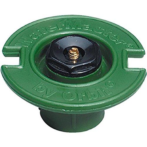 Circle Plastic Flush - Orbit 54007D Quarter Circle Plastic Flush With Plastic Nozzle