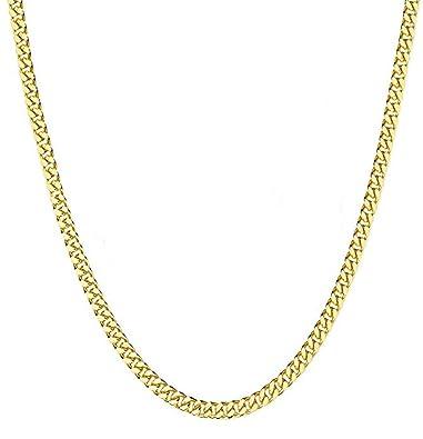 Amazon.com: FZTN Jewelry - Cadena de eslabones cubanos para ...