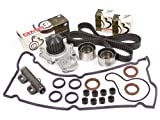 eagle talon timing cover - Evergreen TBK246HVCT 95-99 Chysler Dodge Eagle Mitsubishi Plymouth 2.0 DOHC 420A Timing Belt Kit Valve Cover Gasket Water Pump