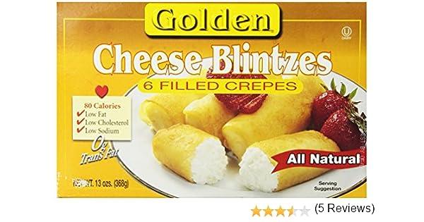 how to prepare frozen blintzes