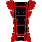 Honda Universal Protective Fuel Tank Pad for Motorbikes red