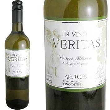 Invino-Veritas Binsero Blanco white non-alcoholic wine Spain non-alcoholic
