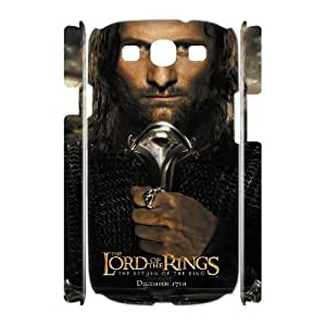 Custom the lord of the rings I9300 3D Case, the lord of the rings Personalized 3D Case for Samsung Galaxy S3 I9300 at Lzzcase