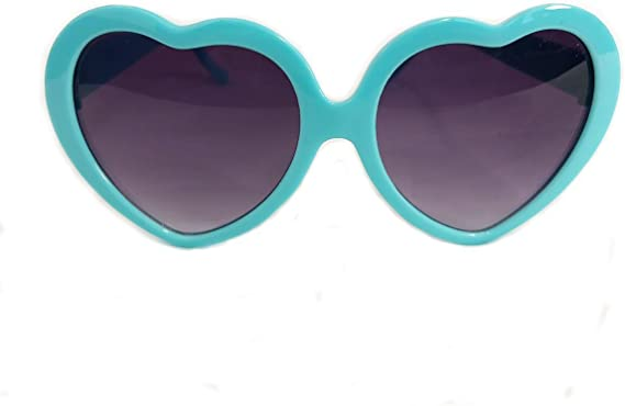 Girls Kids Children Holiday Party Heart Shaped Love Sunglasses Shades Perfect