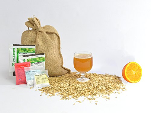1 Gallon Home Brewing Homebrew Recipe Kit, Juice Bomb New England IPA, 6.6%