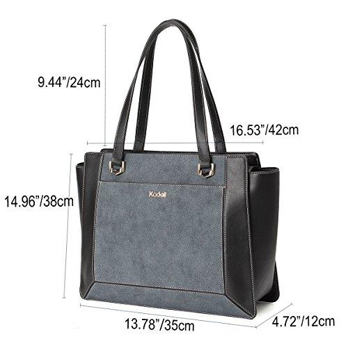Bag Marrone Borse In Marina Elegante Donne Spalla Pelle Kadell g87wxqHB