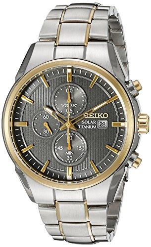 Seiko-Mens-SSC392-Titanium-Solar-Chrono-Analog-Display-Japanese-Quartz-Two-Tone-Watch