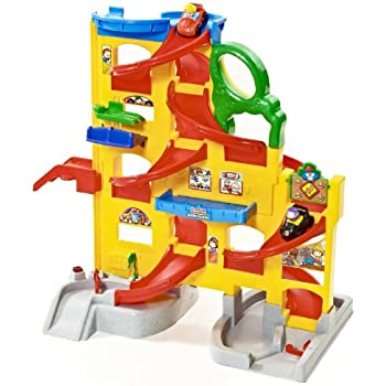 Fisher-Price Little People Wheelies Stand 'n Play Rampway Playset