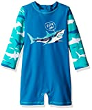 Hatley Baby Boys' Swim Shirt, Toothy Shark, 12-18 Months