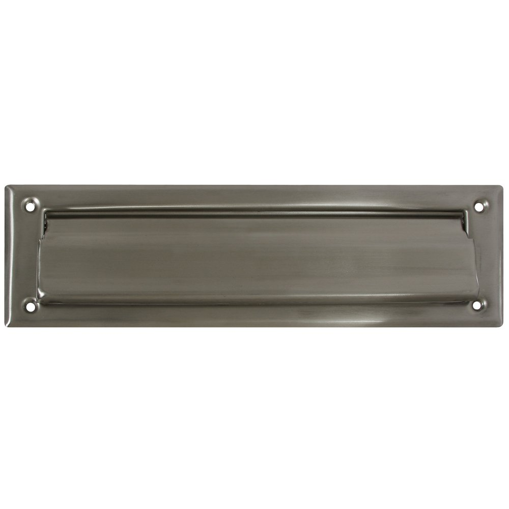 National Hardware N325-290 V1911 Mail Slot in Nickel , 2'' x 11''