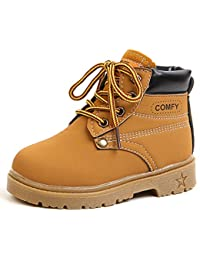 Baby's Boy's Girl's Classic Waterproof Outdoor Insulated Winter Snow Boots