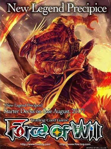 Force of Will - Fire Blood of Dragons Starter Deck - New Legend Precipice - 51 cards