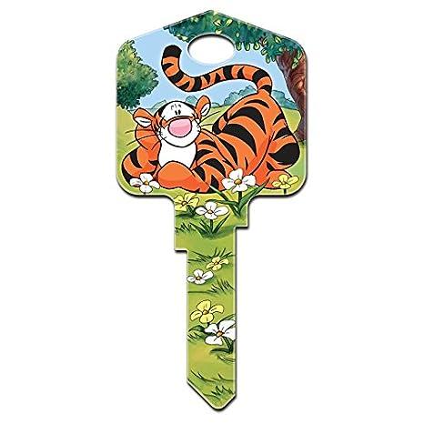 Disney Tigger de Winnie the Pooh clave en blanco, producto ...