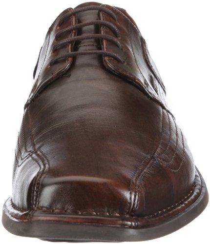 Bugatti Face Sport Crispino  Extraweite  Nappa B32071 - Zapatos clásicos para hombre Marrón